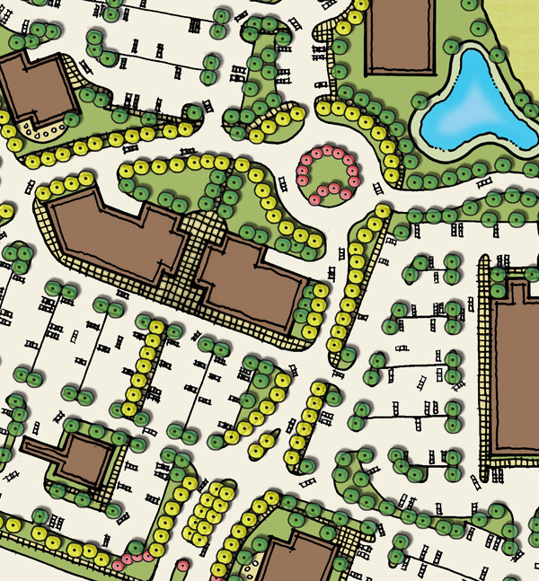 Site planning for Site plan design